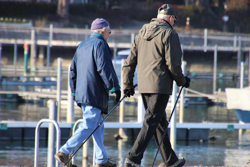 Senioren walken